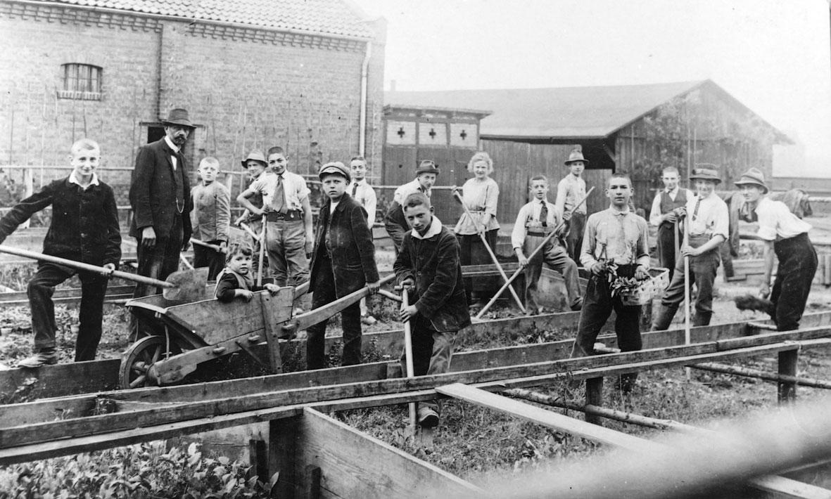 Großer Scheune, 1918. Foto: Sammlung Homeyer