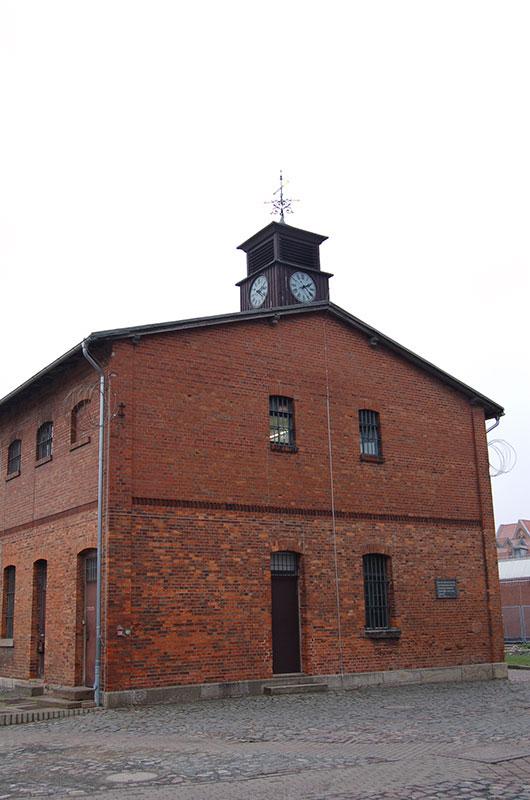 Das ehemalige Hinrichtungsgebäude, 2013. Foto: Martina Staats, Gedenkstätte in der JVA Wolfenbüttel