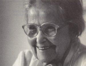 Hilde Schneider, ca. 2000. (Privatbesitz Hilde Schneider)