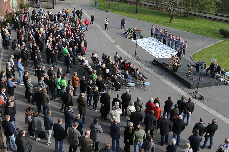 Gedenkstunde am 11. April 2016. (Foto: Jörg Dreyer)