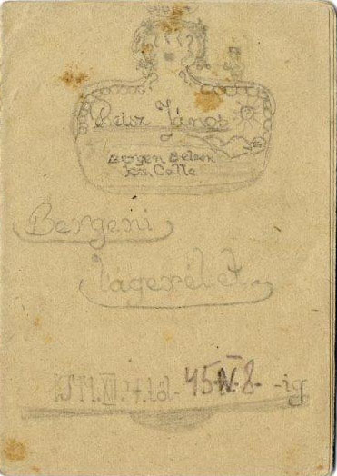 Das Tagebuch von Jovan Rajs (Sammlung Gedenkstätte Bergen-Belsen)