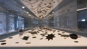 Fundstücke in der Ausstelllung der Gedenkstätte Buchenwald