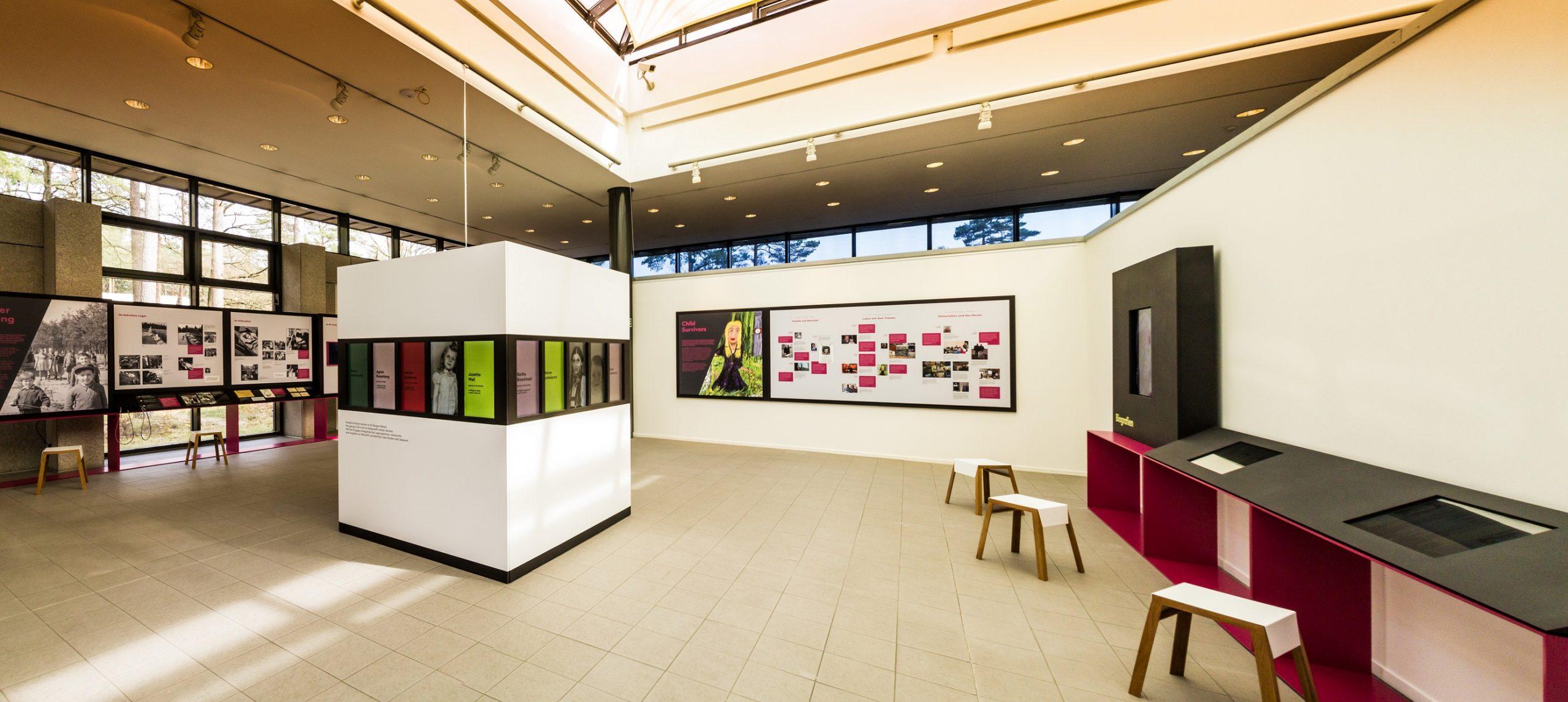 Ausstellung Kinder im KZ Bergen-Belsen