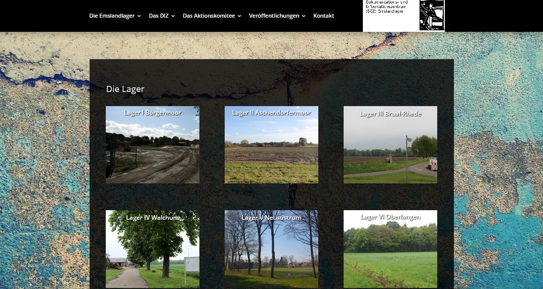Website Homapge