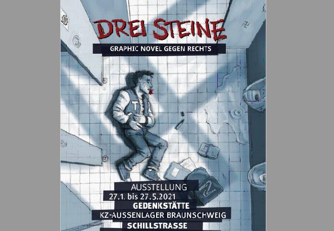 Ausstellung Graphic Novel gegen Rechts